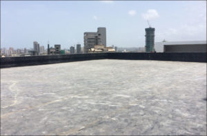 rubber roof membrane
